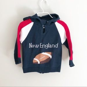 New England Patriots Knitted Sweater